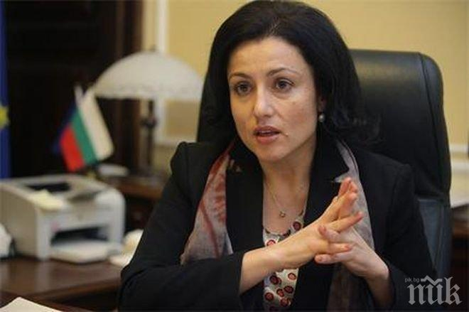Министър Танева: Структурата, която остава с просрочени задължения, е БАБХ