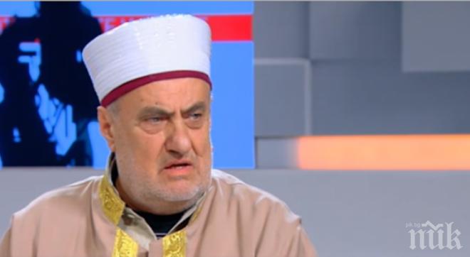 Бившият главен мюфтия: Промити мозъци извършват атентатите, дрогират ги