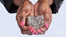 Най-големият диамант от над 100 години е открит в Ботсвана