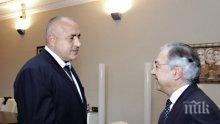 Борисов пред шефа на Европейската сметна палата: Имаме значителен напредък в усвояването на европейските средства