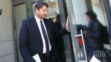 Вижте как Христо Иванов шикалкави на въпроса за оставката (видео)