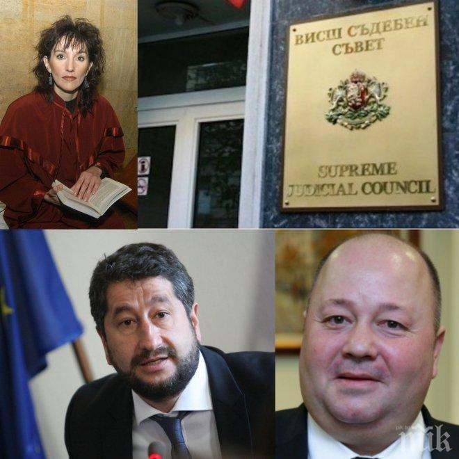 Номерът на протестъра-министър Христо Иванов не мина! ВСС не образува дисциплинарки по предложенията му