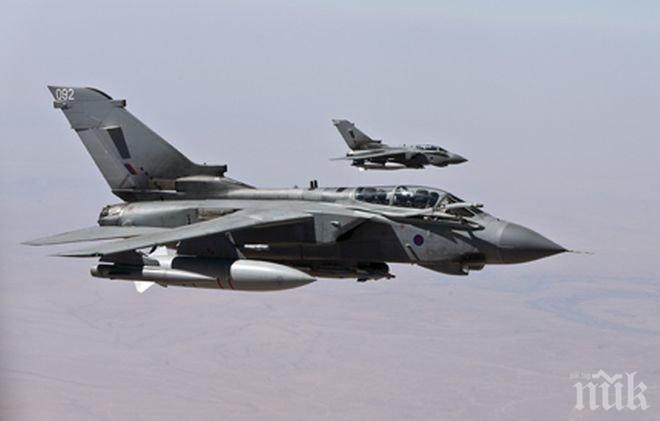"""Великобритания нанесе първите си въздушни удари срещу позиции на """"Ислямска държава"""""""