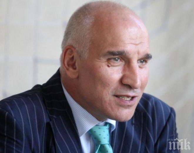 Левон Хампарцумян: В момента нищо не е рисково