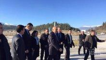 Борисов: Минах из целия път от Родопите, Рила, Пирин и виждам, че става все по-красиво (снимки)