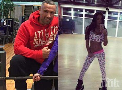 Петко Димитров тренира с Николета! Вижте как влизат във форма (снимки)