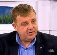 Каракачанов: На този етап няма вероятност РБ да излезе от управлението