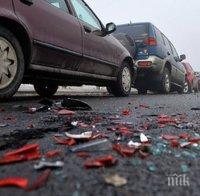 Пияна гъркиня предизвика катастрофа в Пловдив, автобус пък повлече дядо