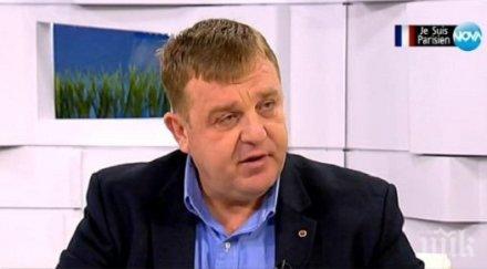 Каракачанов: Турция много нахално се меси във вътрешните работи на България