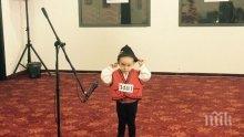 """Сладур! Двегодишен напира за слава в """"България търси талант"""""""
