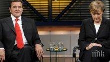 Герхард Шрьодер разкритикува Ангела Меркел за нейната миграционна политика
