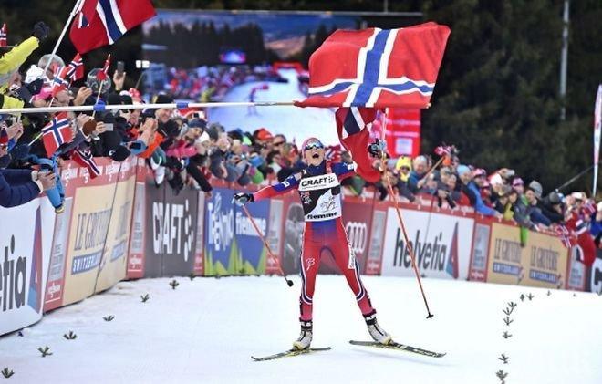 d3efdca9e07 Терезе Йохауг спечели ски-бягането на 10 км-свободен стил -...