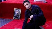 """Звездата от """"Досиетата Х"""" вече има свое място в Алеята на славата в Холивуд"""