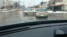 Катастрофа на околовръстното във Варна (снимки)