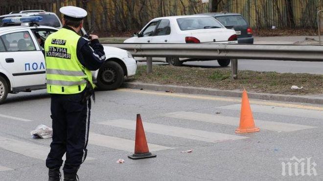 Инцидент във Велико Търново: Блъснаха дете на пешеходна пътека пред спортно училище