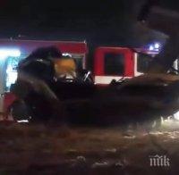 жестока катастрофа варна кола помете пешеходец