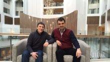 Явор Хайтов се срещна с един от най-титулованите български спортисти Валентин Йорданов (снимки)