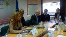 Зам.-министър Деница Николова обсъди с македонския си колега Люпчо Пренджов Програмата за трансгранично сътрудничество между двете държави