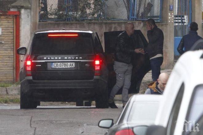 ПЪРВО в ПИК! Мутрата Слави си тръгна по криминален начин от СДВР след разпита за заканите срещу Недялко Недялков! (обновена)