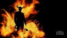 Ужас! Дяволът се появи в селска църква