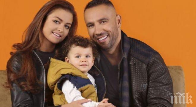 Петко и Яна показаха за първи път сина си Доменик