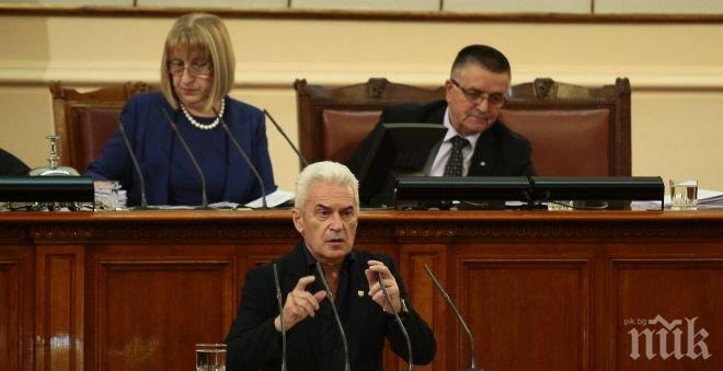 Волен Сидеров скочи на европейски чиновници, не подмина и министър Митов