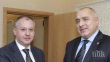 ЕКСКЛУЗИВНО! Бойко Борисов и Сергей Станишев разговаряха за проблемите с мигрантите! Вижте какво обсъдиха двамата лидери