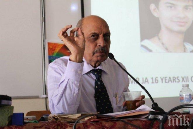 Прочутият хомеопат д-р Кишор Мета: Индийската свекърва е по-зла от българската