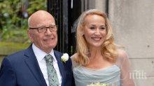 Райска сватба! Ето как се ожениха Джери Хол и Рупърт Мърдок (ексклузивно видео)