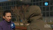 Една разтърсваща история за насилието от първо лице! Жена скри лицето си и се облече с чужди дрехи заради страх от бившия си мъж!