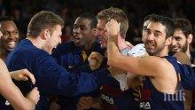 Сашо Везенков помогна на Барселона за важен успех над ЦСКА (М)