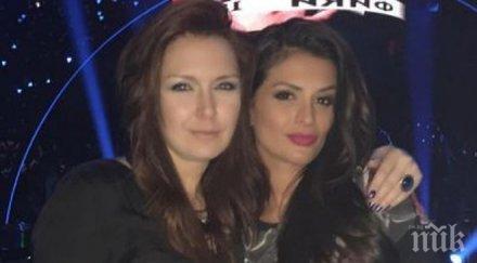 СПИПАНИ В КРАЧКА! Жени Калканджиева и Преслава се наливат с алкохол в столично заведение, вижте колко са пияни красавиците!