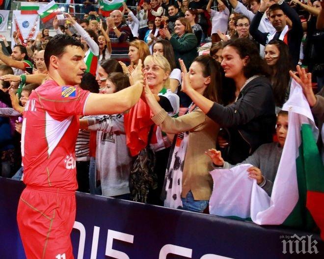 """САМО В ПИК! Голямата звезда на волейбола проговори! Вижте какво каза Владо Николов за бенефиса в """"Арена Армеец"""", """"Левски"""", """"черното тото"""", националния отбор, Казийски и семейството!"""