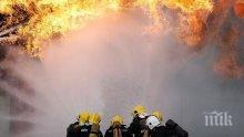 Пламъци погълнаха тон фураж и 200 кг брикети в Сухиндол