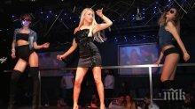 """Вихрено парти в """"Студентски град""""! Теди Александрова забавлява стотици в """"Клуб 33"""" (снимки)"""
