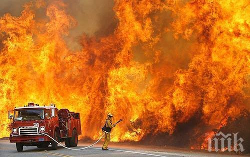 Един човек е загинал при пожар и последвал взрив в кафене в Рим