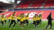 Борусия (Дортмунд) тренира извънредно часове преди мача с Ливърпул