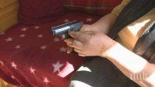 Гърменска пенсионерка се пази с газов пистолет от крадци