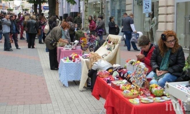 Пролетният Панаир на занаятите започна в Пловдив