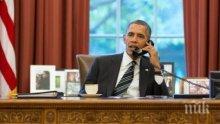 """Обама: """"Брекзит"""" ще постави Великобритания в """"края на опашката"""" на търговията на САЩ"""