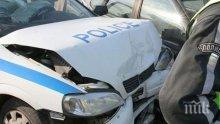 """АД НА АМ """"ТРАКИЯ""""! ТИР удари патрулка, полицай е загинал (обновена)"""