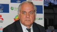 Данчо Лазаров запази властта във волейбола