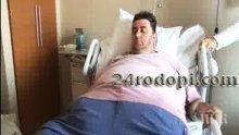 Най-тежкият мъж в България си намалява стомаха в Турция