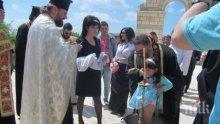 8 деца бяха кръстени в Голямата базилика в Плиска</p><p>