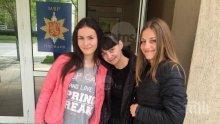 Добра вест: Ето ги момичетата, които върнаха портфейл с пари в Пловдив (ВИДЕО)
