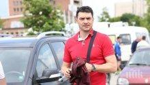 Владо Николов тества автомобили ден преди своя бенефис (снимки)
