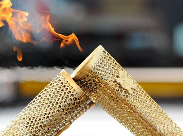 Олимпийският огън пое на 95-дневно турне