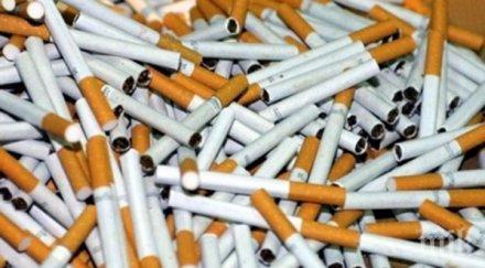 гдбоп разби престъпна група контрабанда цигари