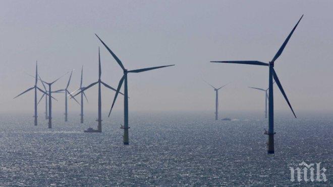 Най-голямата плаваща вятърна ферма ще бъде построена край Шотландия