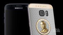 Пуснаха мобилен телефон с портрет на Владимир Путин